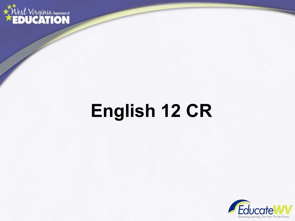 English 12 CR