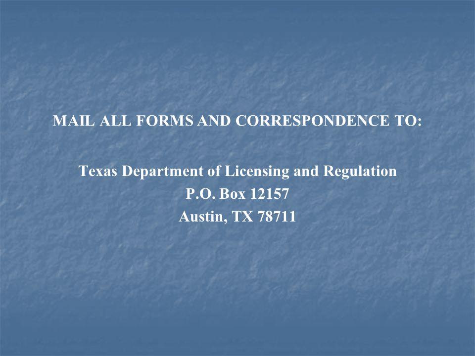 Licensee Responsibilities