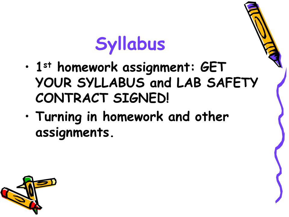 General Class Procedures ALL school rules apply.