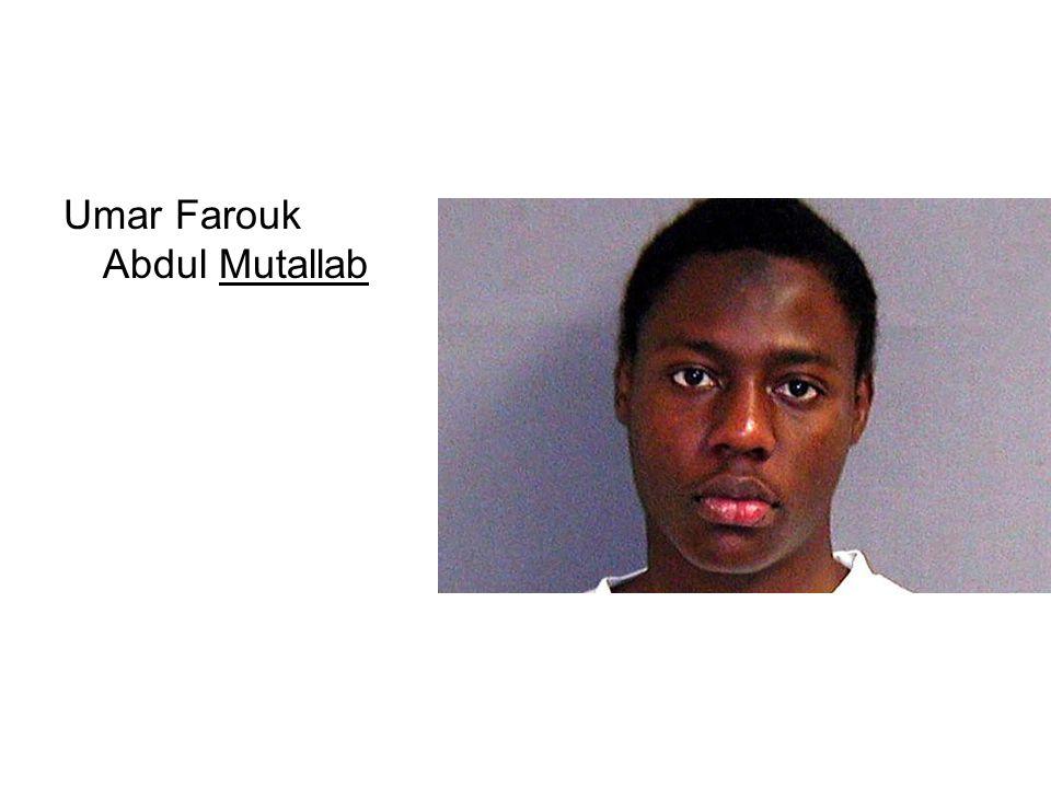 Umar Farouk Abdul Mutallab