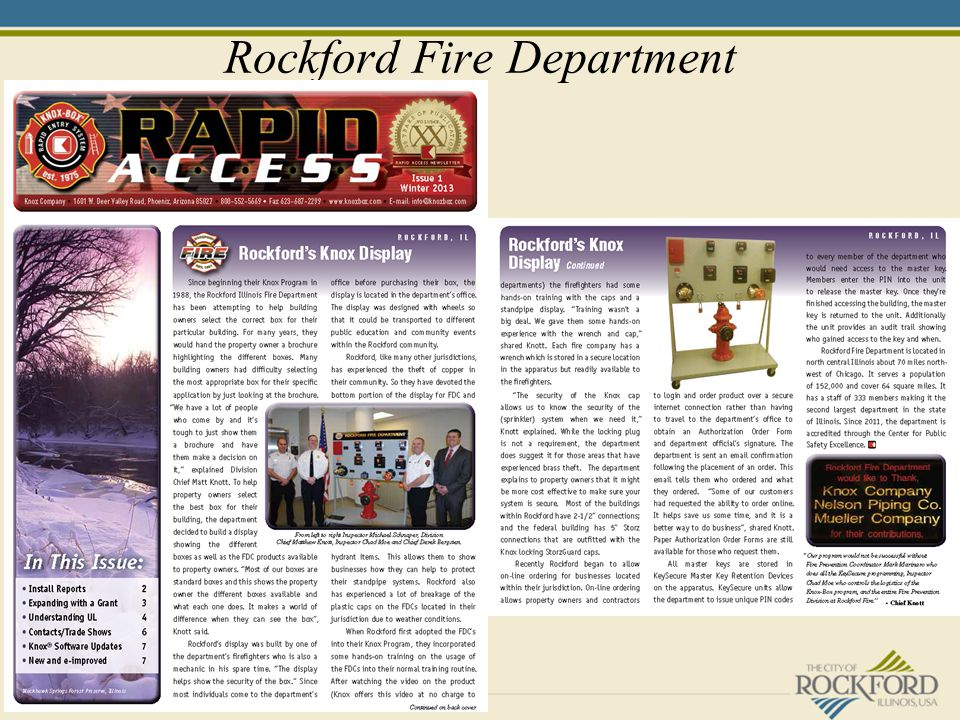 Rockford Fire Department