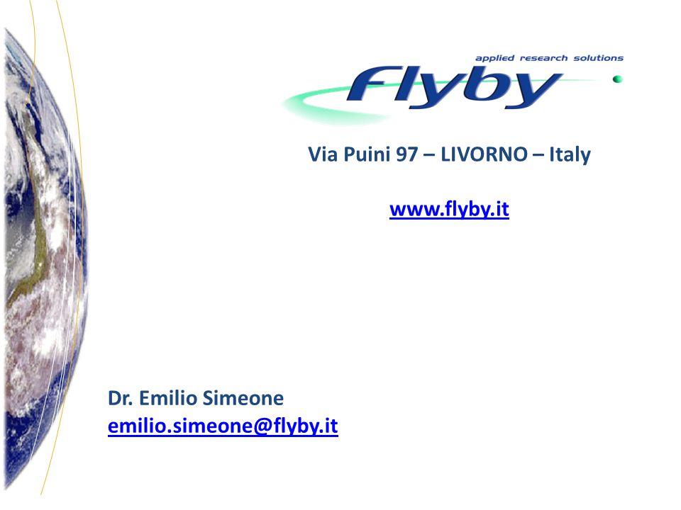 Via Puini 97 – LIVORNO – Italy www.flyby.it Dr. Emilio Simeone emilio.simeone@flyby.it