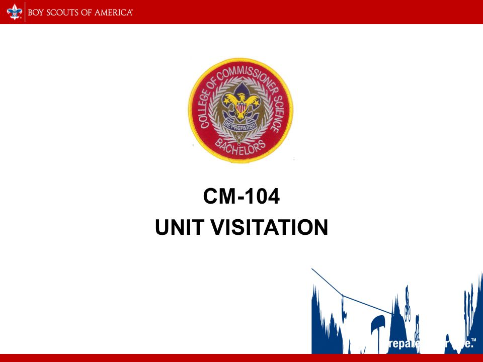 CM-104 UNIT VISITATION