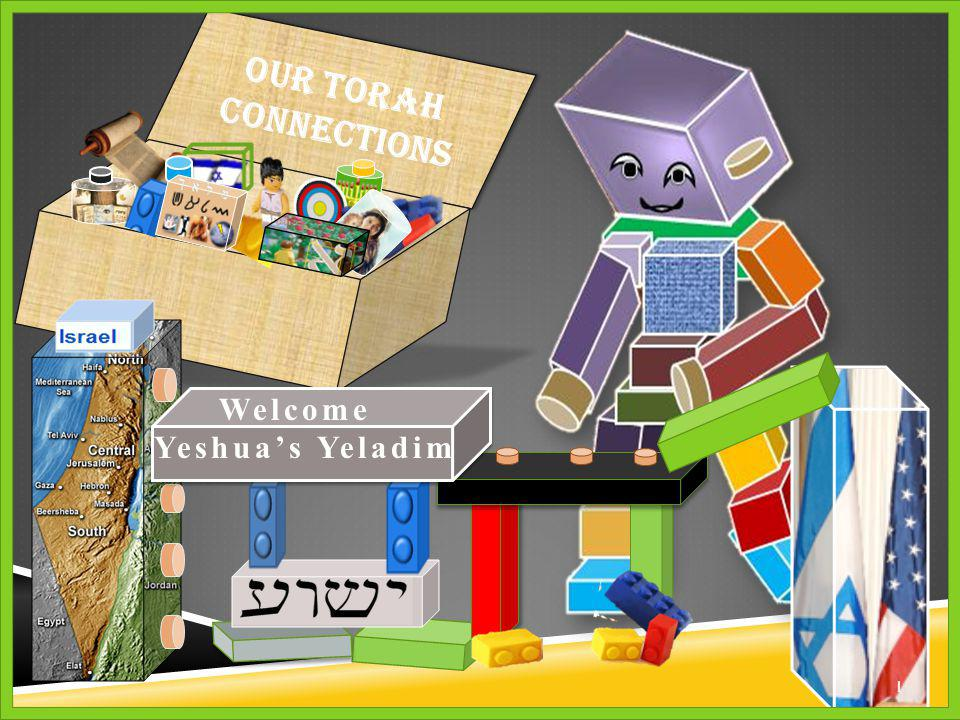 Our Torah Connections 1 1 Welcome Yeshua's Yeladim