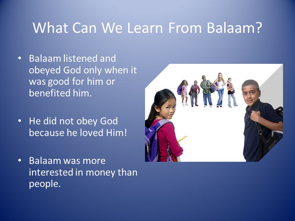 Balaam's Eyes Are Opened Then, God opened Balaam's eyes to see the angel with the sword.