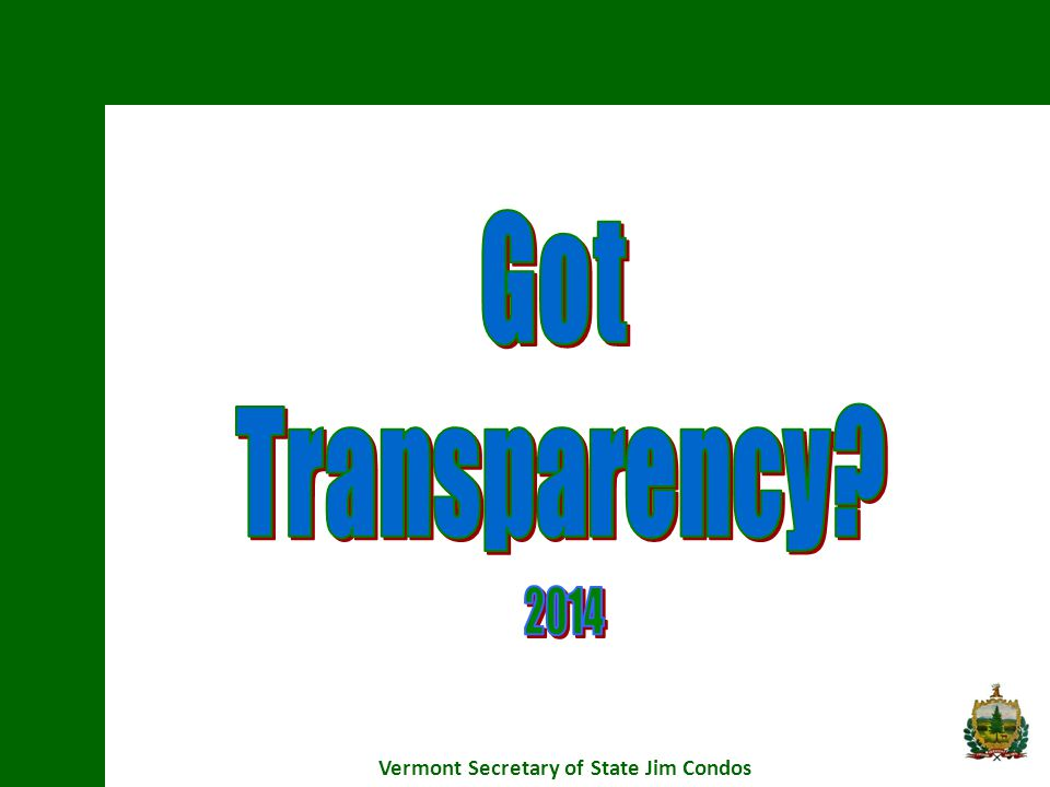 Redacting Exempt Information Vermont Secretary of State Jim Condos It has always been best practice, whenever possible, to redact exempt information and provide the remainder of a document.