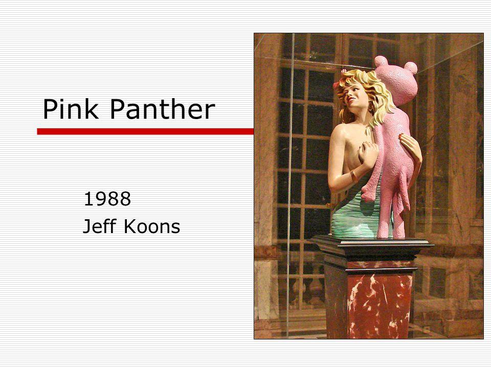 1988 Jeff Koons Pink Panther