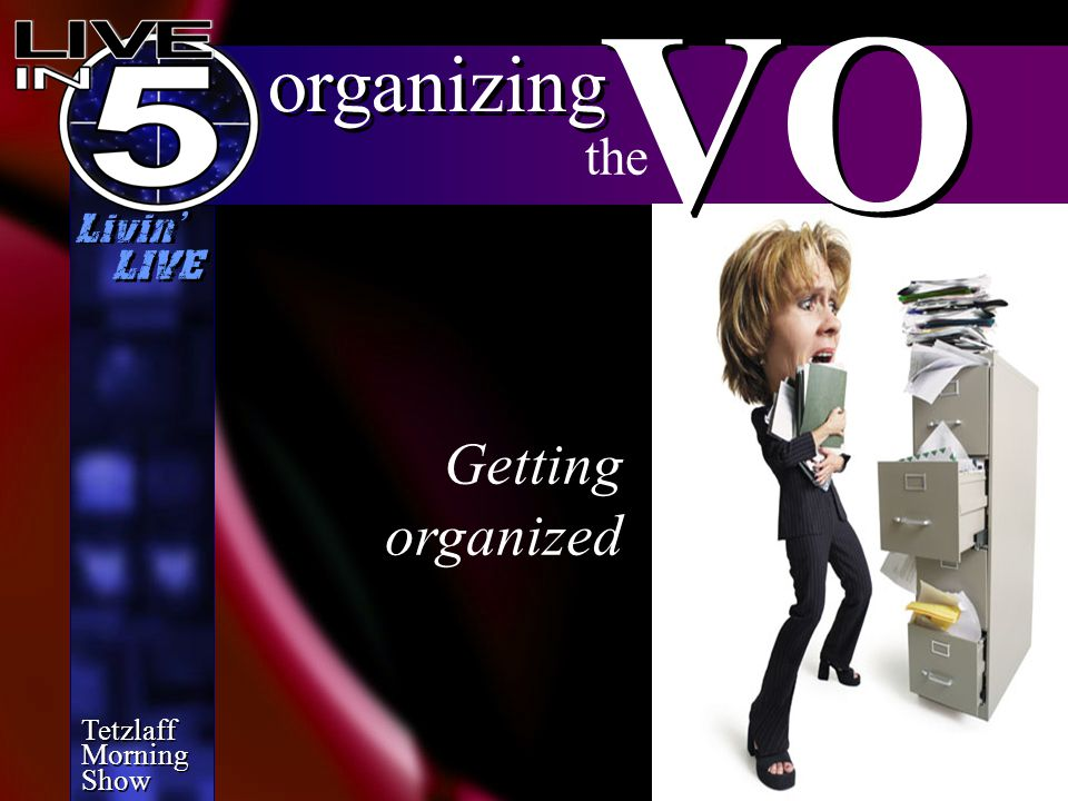 Tetzlaff Morning Show Tetzlaff Morning Show Livin' LIVE finalizing VO the STUDIO SHORTCUT (On Desktop)
