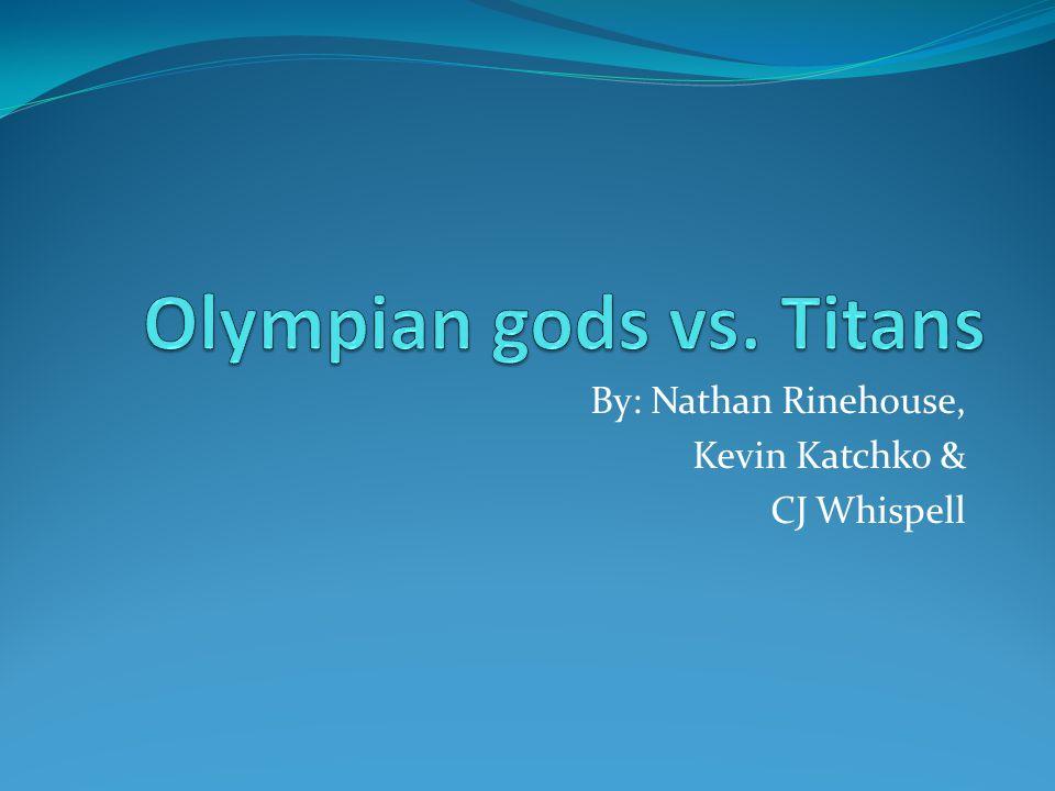 Works Cited The Greek Gods.1 Mar. 2009. Olympians vs.