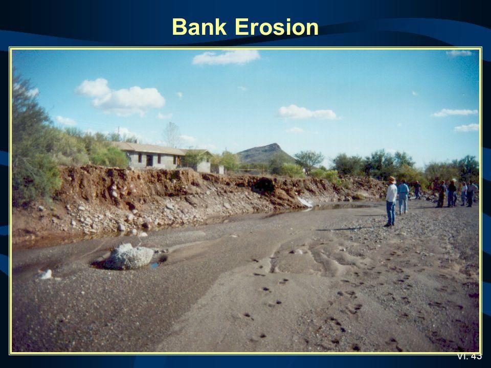 VI. 43 Bank Erosion