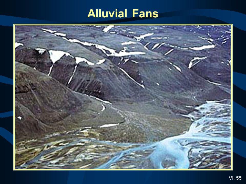 VI. 55 Alluvial Fans