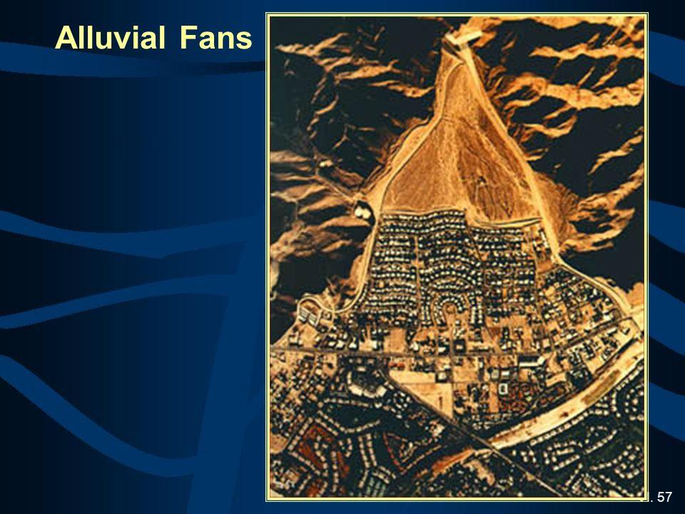 VI. 57 Alluvial Fans