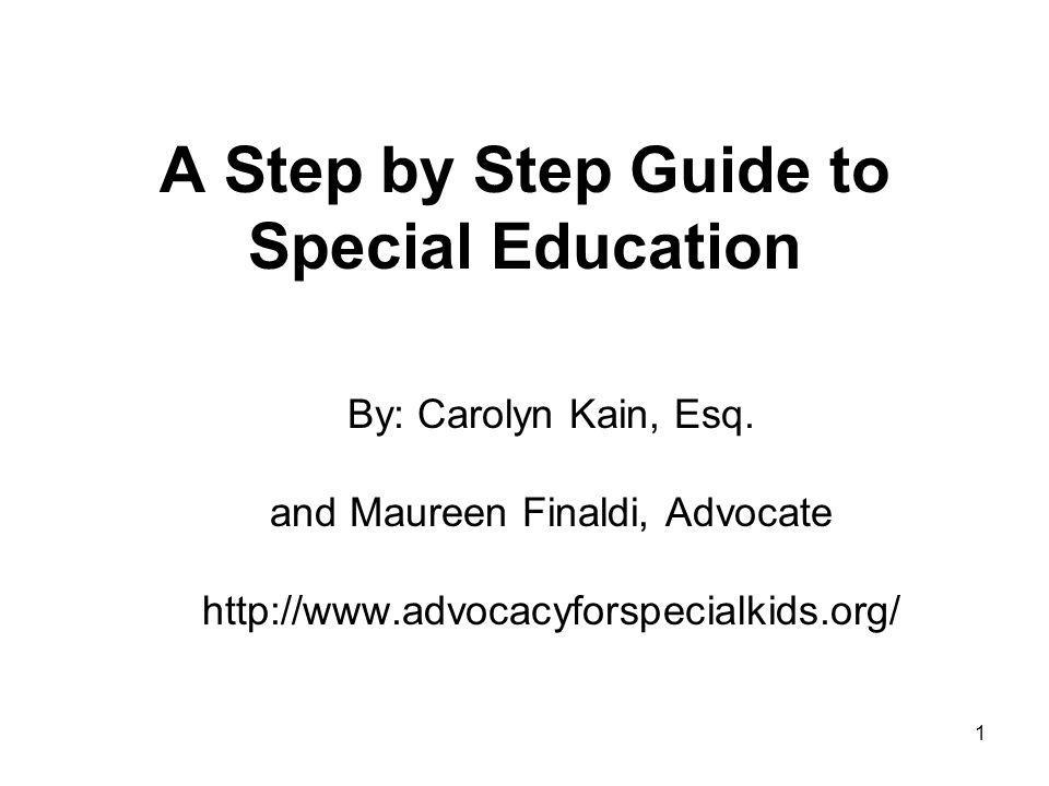 2 Special Education Rights Federal and State Laws and Students with Disabilities 1.
