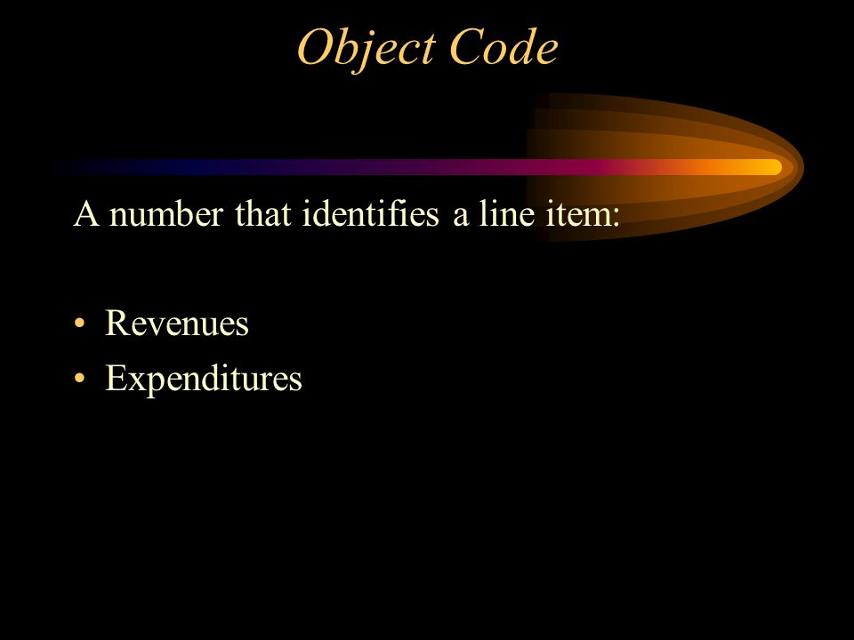Organization Key A number that identifies a: Cost Center Department Administrative Unit