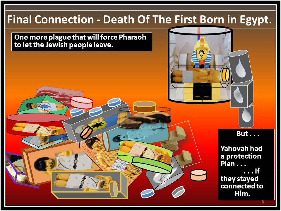 Final Connection - Death Of The First Born in Egypt.