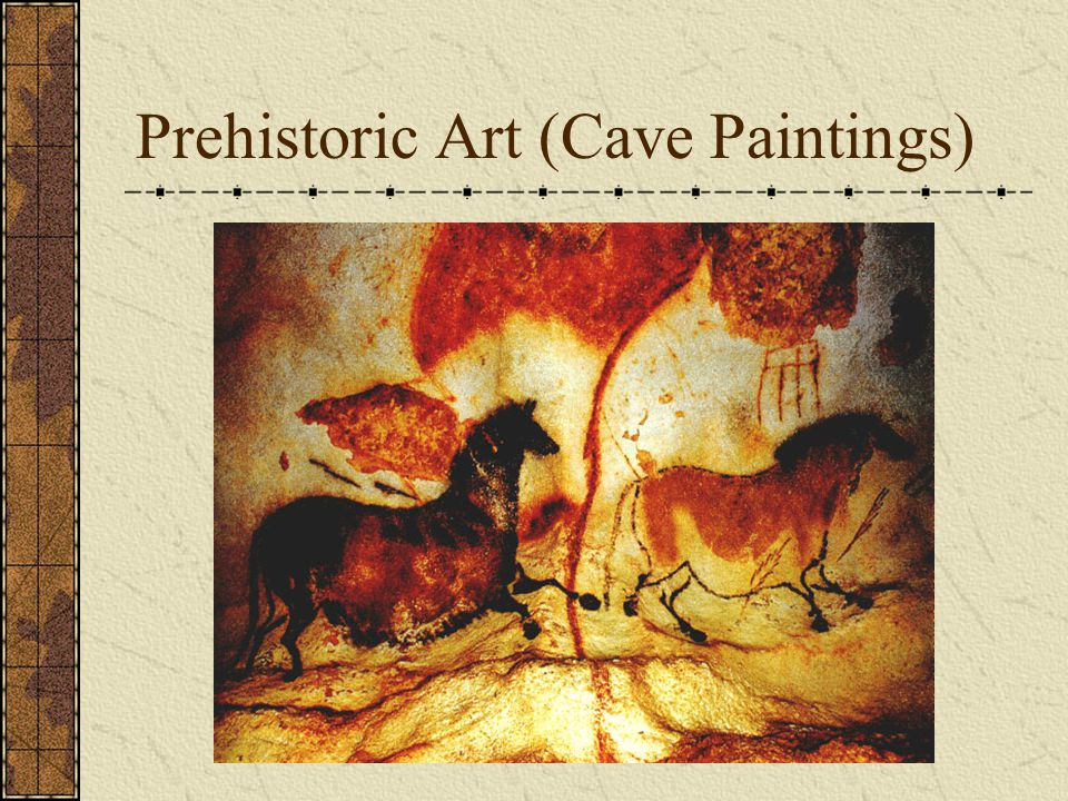 Cave Art in 2012 Now it is your turn to create Cave Art.