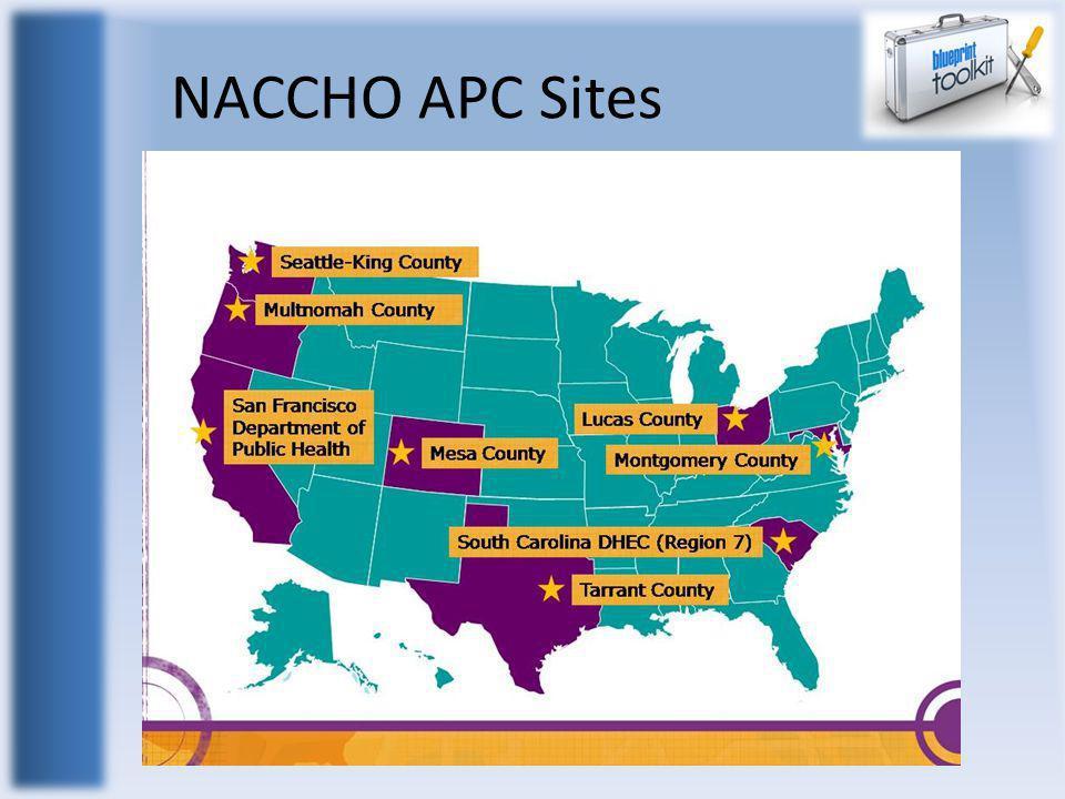 NACCHO APC Sites