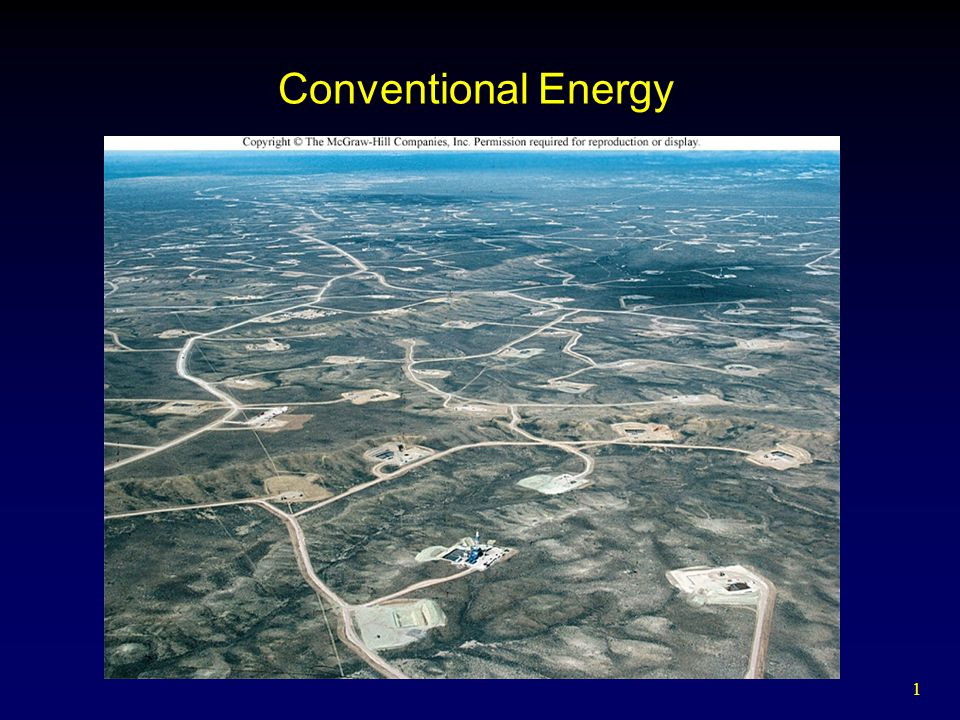 1 Conventional Energy