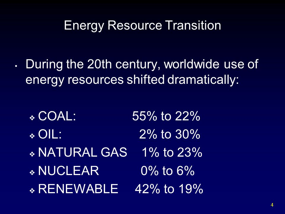 45 Natural Gas Resources and Reserves  Proven world reserves of natural gas are 5,500 trillion ft 3.
