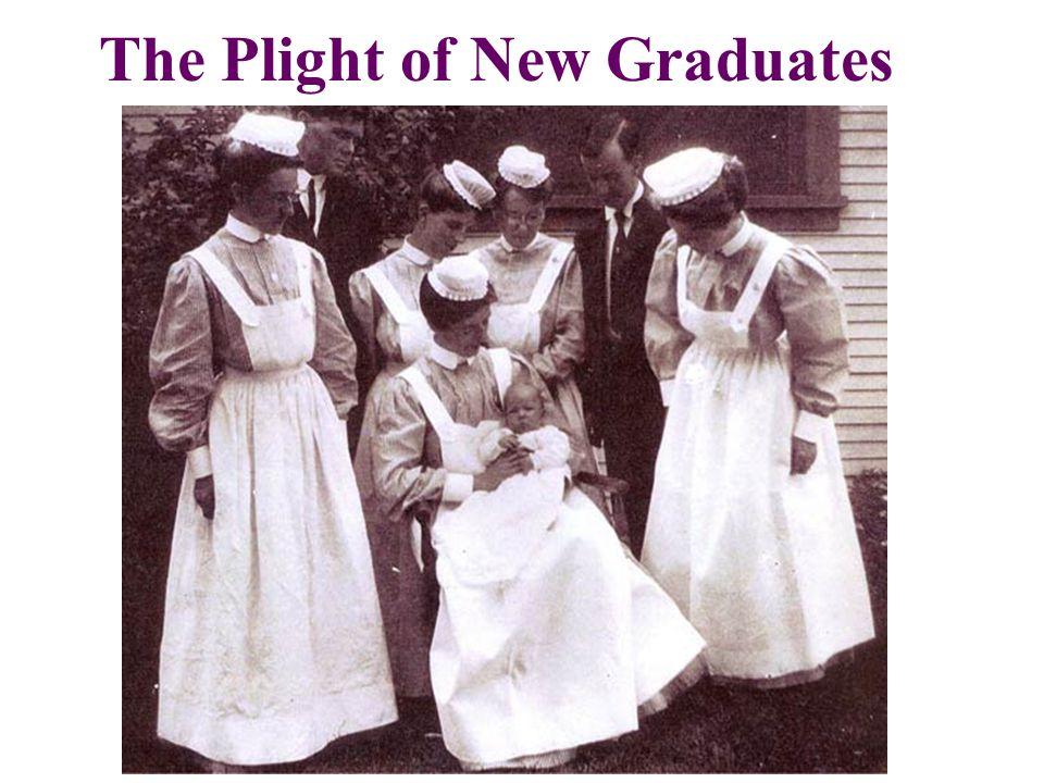 The Plight of New Graduates