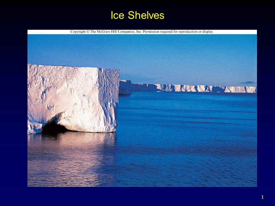 1 Ice Shelves