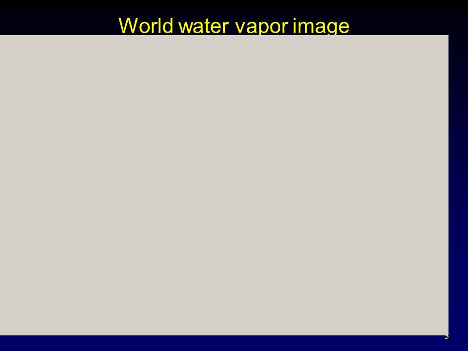 3 World water vapor image