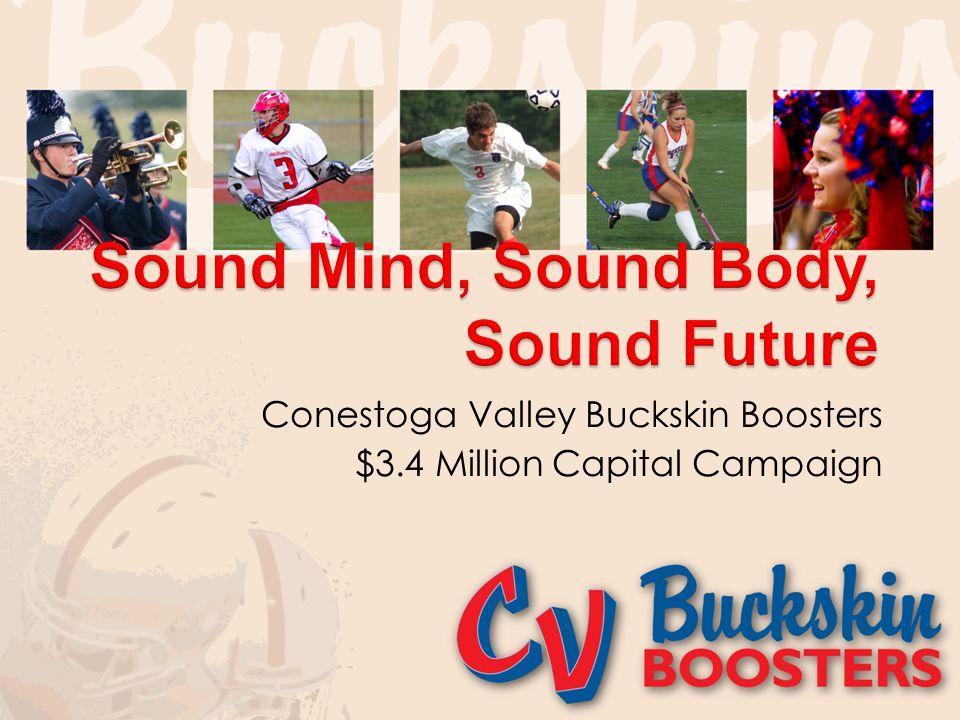 Conestoga Valley Buckskin Boosters $3.4 Million Capital Campaign