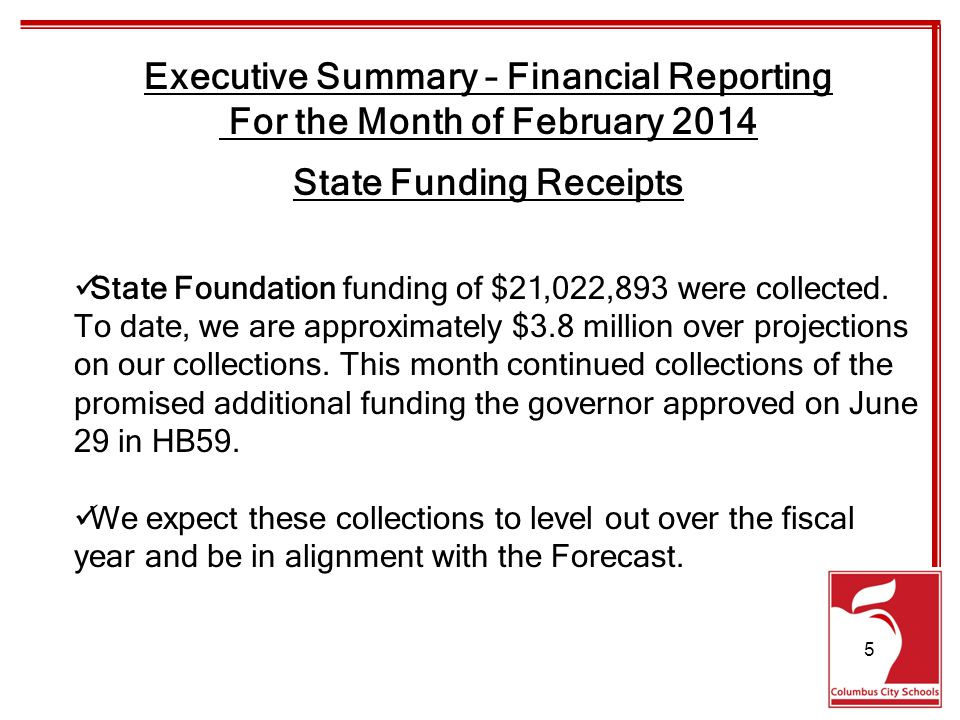 State Foundation funding of $21,022,893 were collected.