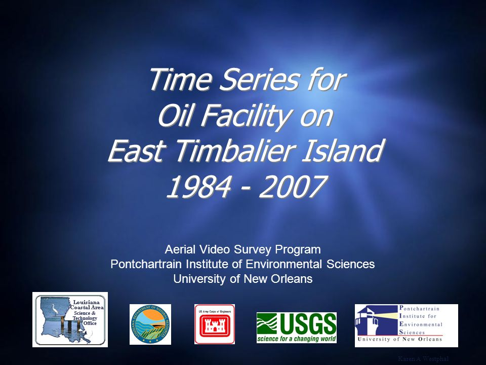 The Aerial Video Survey Program has been acquiring photography and video of the northern Gulf of Mexico shoreline since 1984.