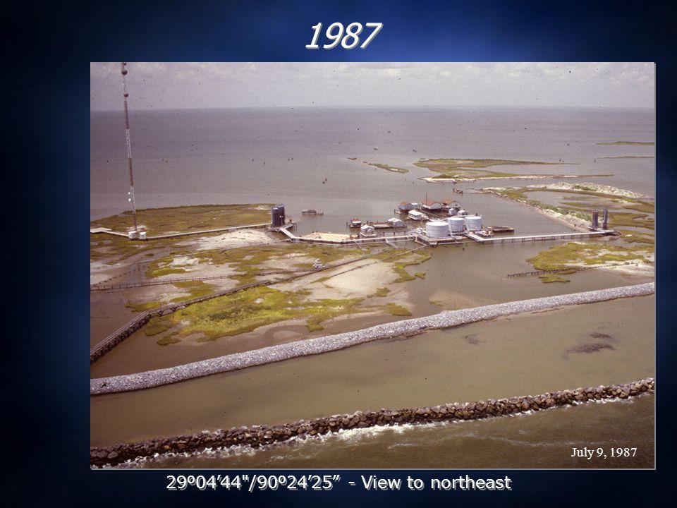 July 14, 1988 1988 29 º 04 ' 44 /90 º 24 ' 25 - View to northeast