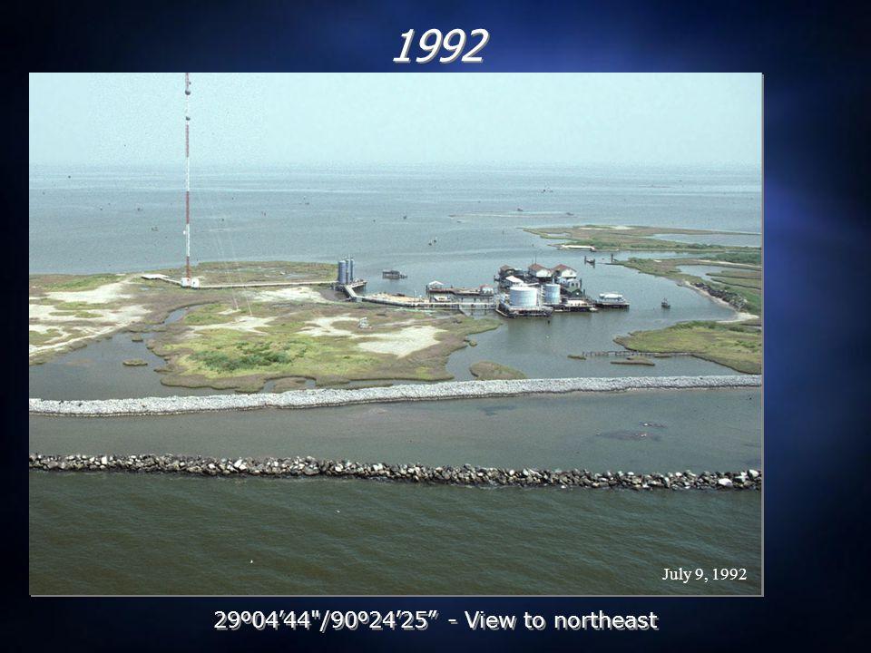 June 16, 1993 1993 29 º 04 ' 44 /90 º 24 ' 25 - View to northeast
