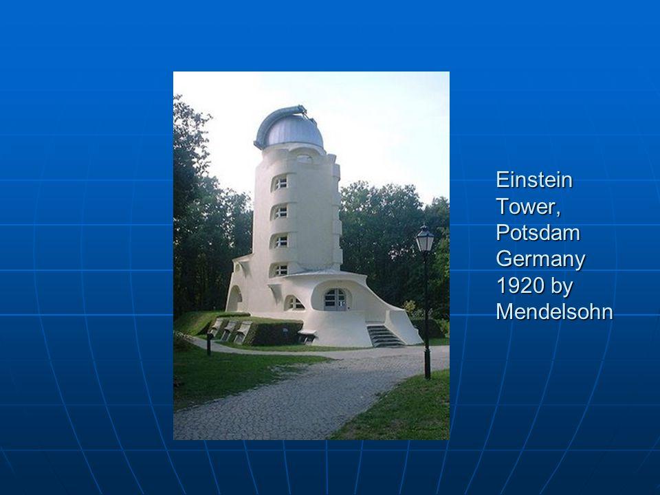 Einstein Tower, Potsdam Germany 1920 by Mendelsohn
