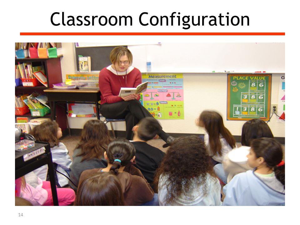 Classroom Configuration 14