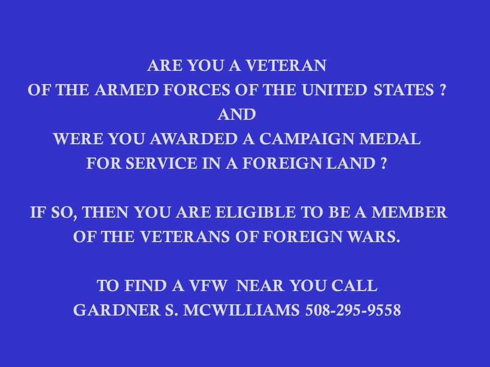 ARE YOU A VETERAN OF THE ARMED FORCES OF THE UNITED STATES .