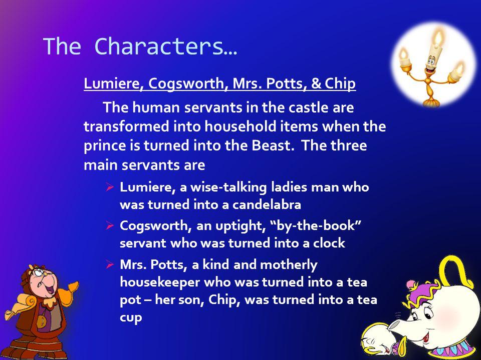 Lefou and the other townsfolk Lefou is Gaston's sidekick.