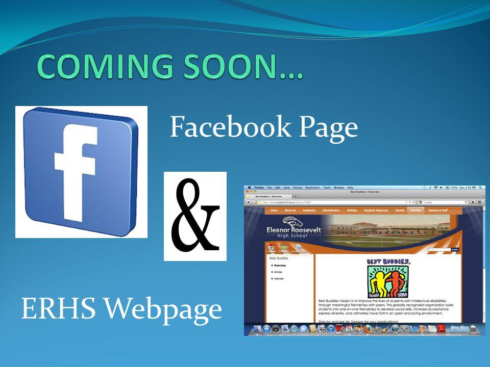 Facebook Page ERHS Webpage
