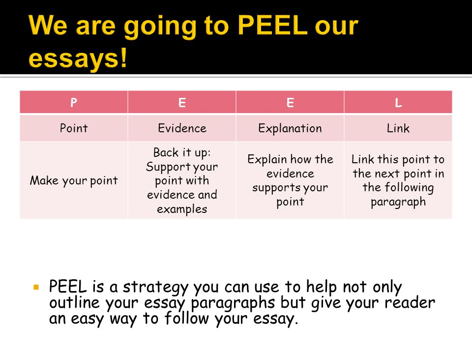 You will receive three copies of the PEEL form.