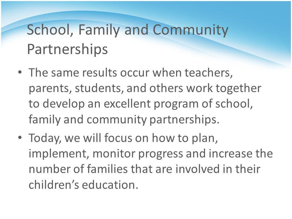 National Network of Partnership Schools Need ideas??.