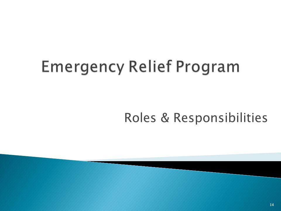 Roles & Responsibilities 14