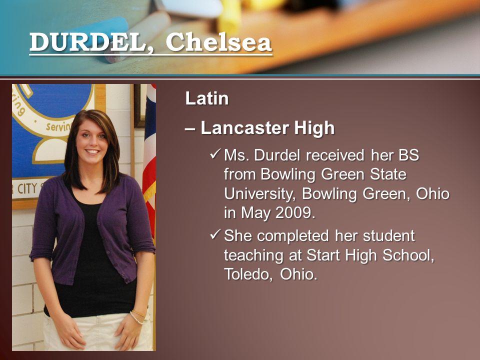 Latin – Lancaster High Ms.
