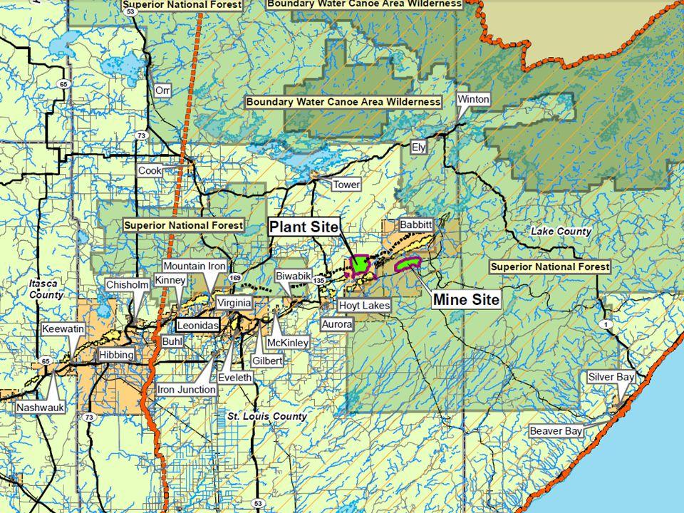 1-hr SO 2 Culpable Sources (number of receptors exceeded) Minnesota Power Laskin (2) US Steel Minntac (10) Northshore Peter Mitchell Pit (15) ArcelorMittal (23) Virginia Public Utilities (28) Standard (µg/m 3 )Modeled Result (µg/m 3 ) 196893/1705