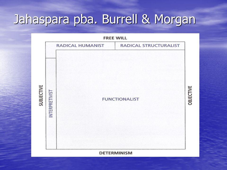 Jahaspara pba. Burrell & Morgan