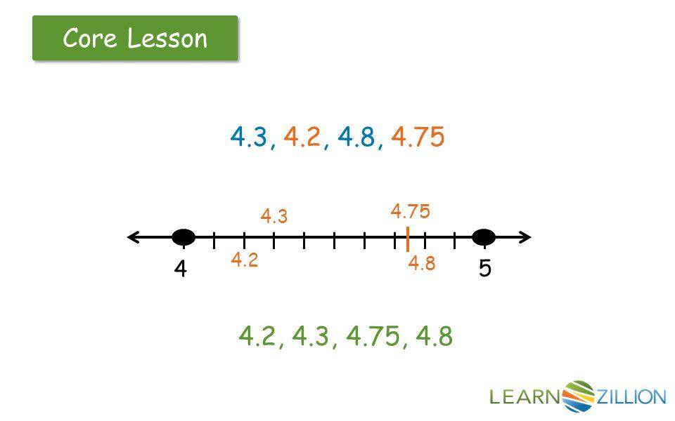 4.2, 4.3, 4.75, 4.8 4.3, 4.2, 4.8, 4.75 l l l l l l l l l l l 4 5 4.2 4.3 4.8 4.75