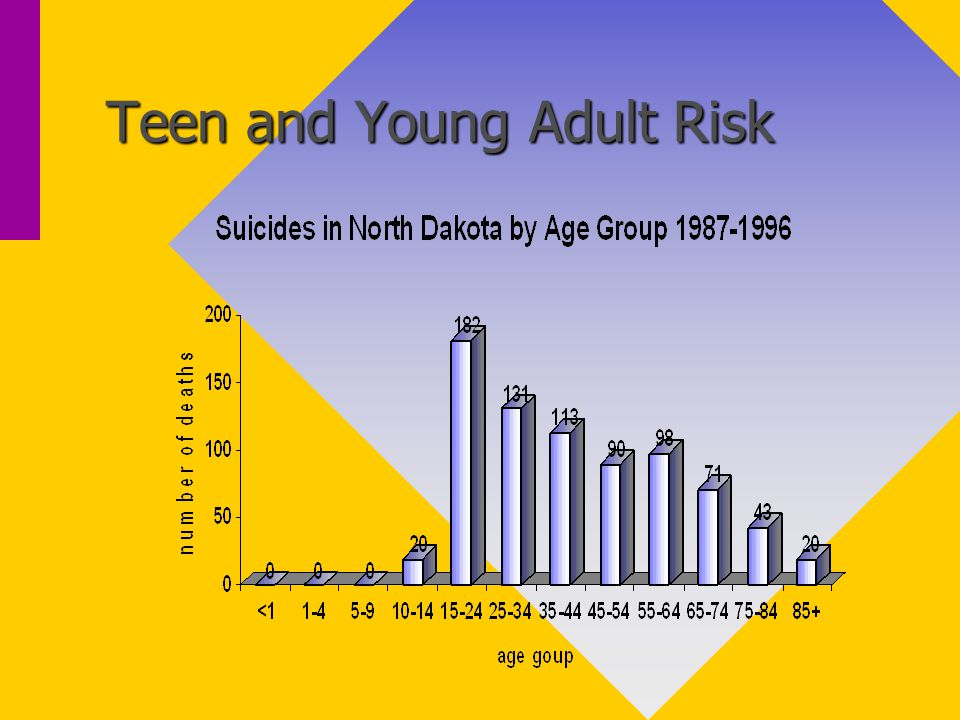 Teen and Young Adult Risk