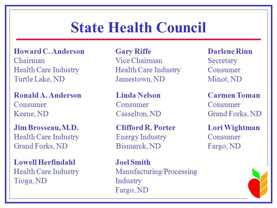 Advisory Council  James D.Brosseau, M.D.