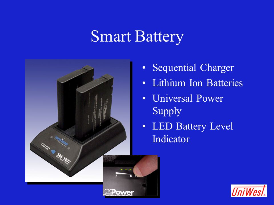 Smart Battery Sequential Charger Lithium Ion Batteries Universal Power Supply LED Battery Level Indicator