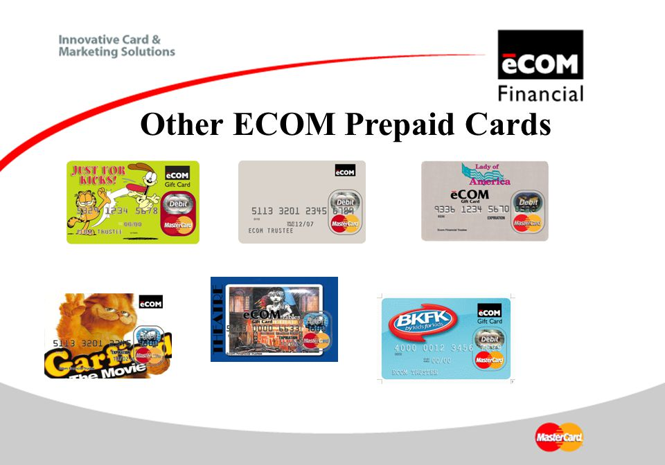 Other ECOM Prepaid Cards
