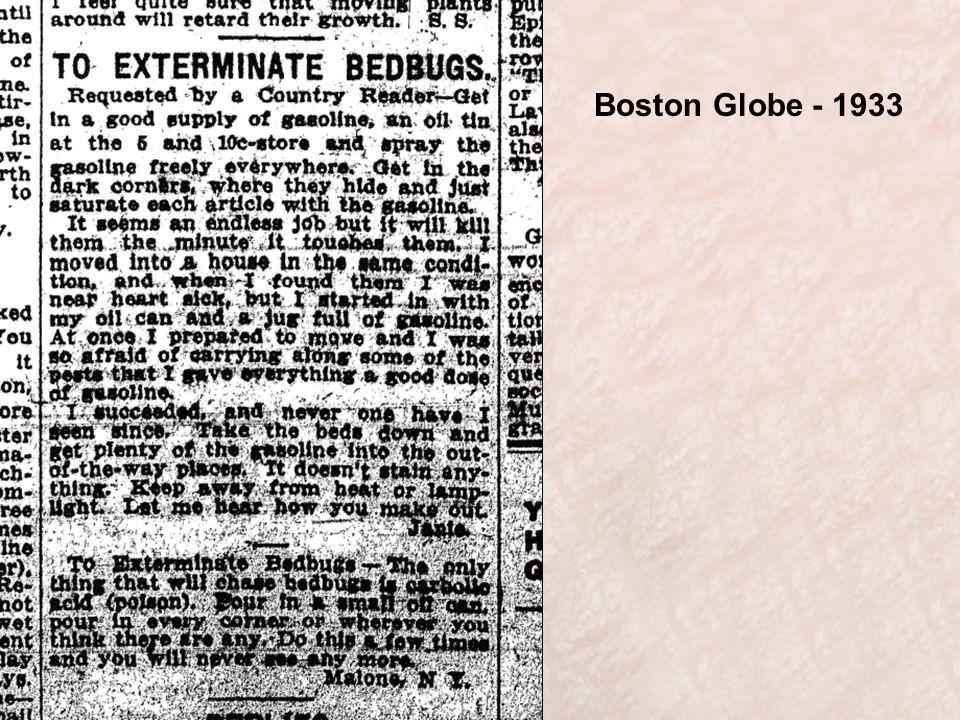 Boston Globe - 1933