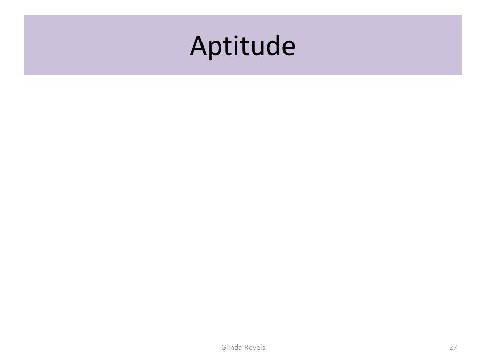 Aptitude Glinda Revels27