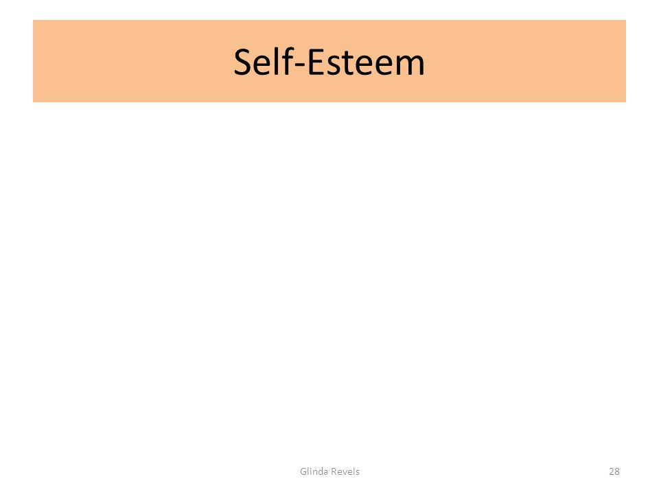 Self-Esteem Glinda Revels28